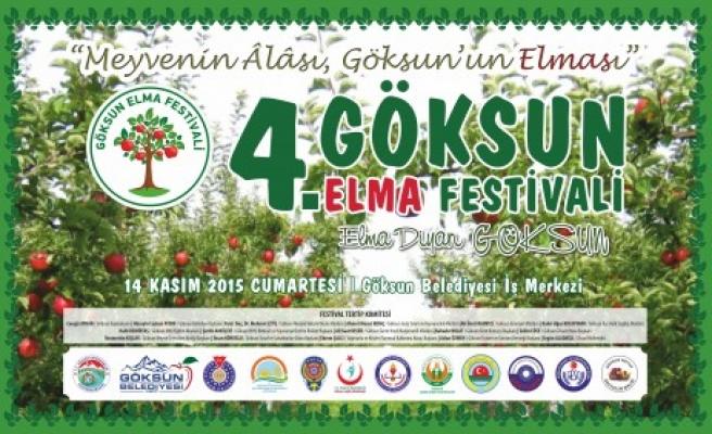 Göksun Elma Festivali'nin 4.sü Yapılıyor