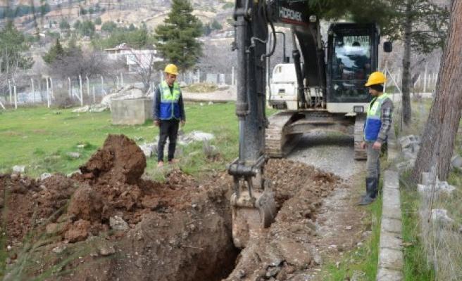 Göllü Ve Ayaklıcaoluk'a 28 Km İçme Suyu Hattı