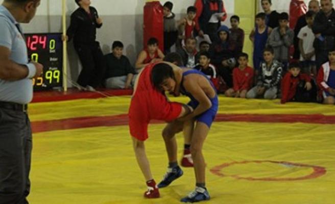 Güreş Greekoromen Ve Serbest Stil'de İl Birincileri
