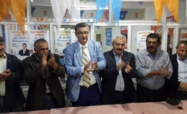 Güvenç Türkoğlu ve Pazarcıkta  Seçim Çalışmalarına Devat Etti