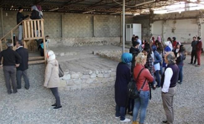 Güzel Sanatlar Fakültesi Germenica'yı Gezdi