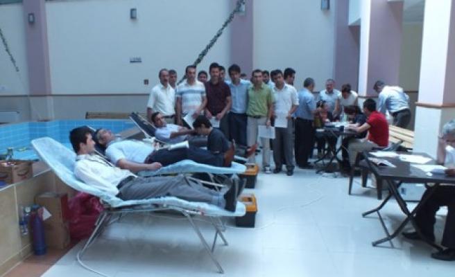 Hakim ve Savcılardan Kan Bağışı Kampanyası
