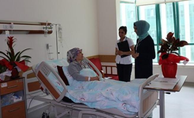 Hastaneden Moral Destek Hizmeti