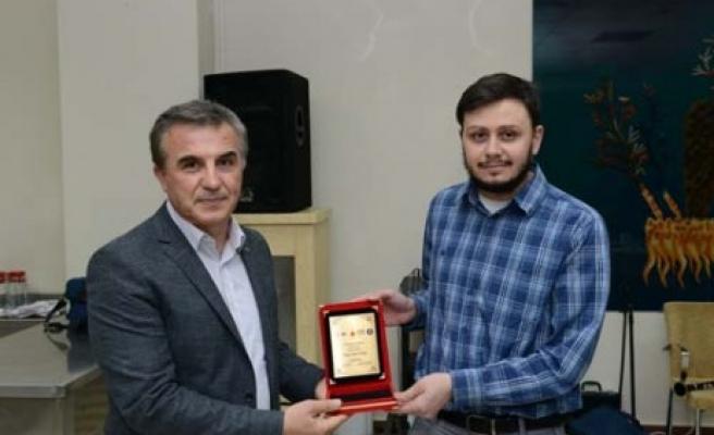 Kahramanmaraş Talasemi Sempozyumu Ödülleri Sahiplerini Buldu