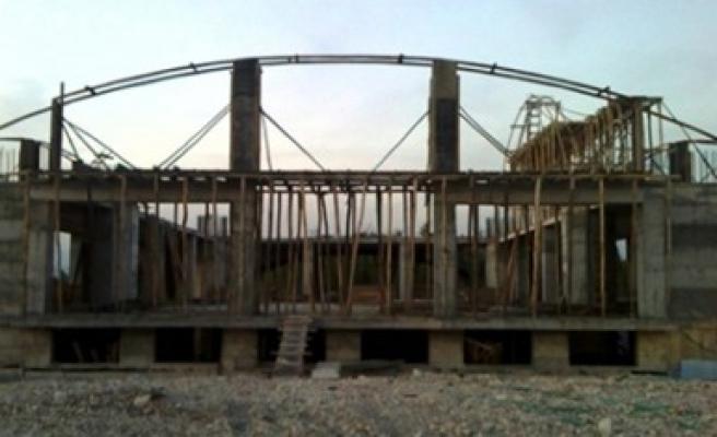 Kahramanmaraş'ın İkinci En Büyük Camisi KSÜ'de Yükseliyor