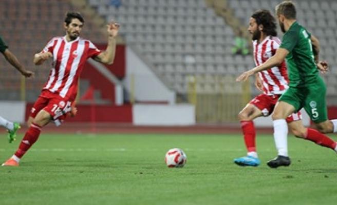Kahramanmaraşspor: 1 - SBS İnşaat Kırklarelispor: 2