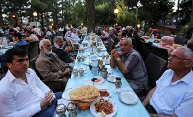 Kahramanmaraş'ta Yaşayan Afşinliler İftarda Bir Araya Geldi