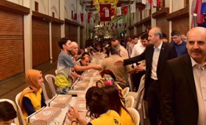 Kapalı Çarşı'da Sevgi Ve Muhabbet Dolu İftar Programı