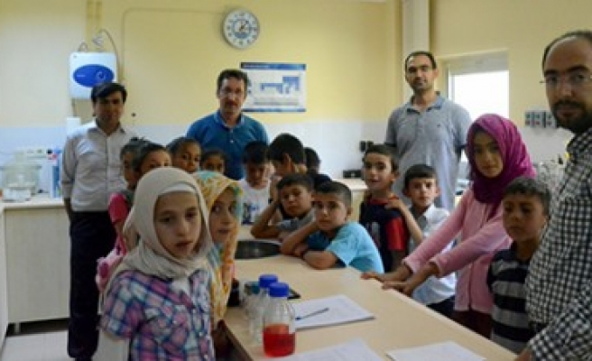 KASKİ'den Öğrencilere Uygulamalı Su Tasarrufu Eğitimi