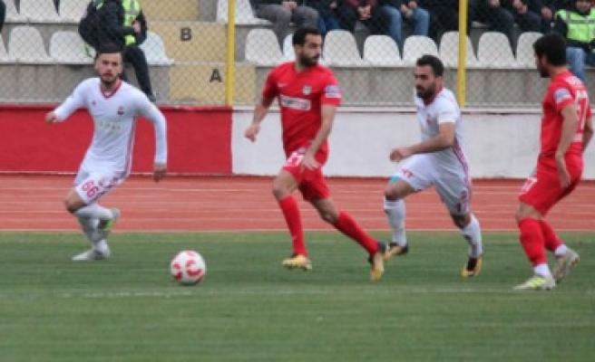 Kipaş Kahramanmaraşspor: 1 - Nazilli Belediyespor: 1