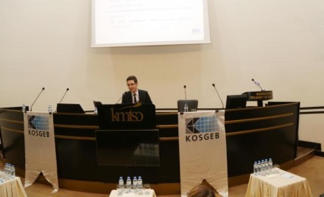 KMTSO'da Yeni KOSGEB Programları Tanıtıldı