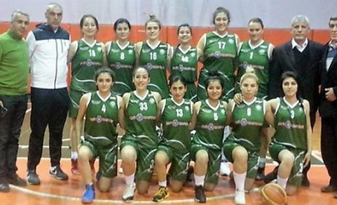 KSÜ Bayan Basketbol Takımı, Diyarbakır'dan Galibiyetle Döndü