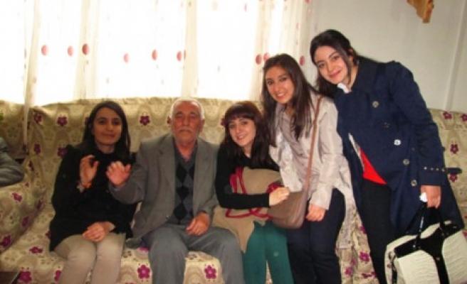 KSÜ Eğitim Fakültesi Yaşlıları Yine Unutmadı