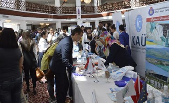KSÜ, Kırgızistan'da Akademik İşbirliği Protokolü İmzaladı