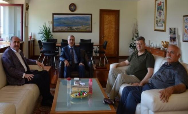 KSÜ Vakfı Yönetim Kurulu Üyelerinden Niyazi Can'a Ziyaret