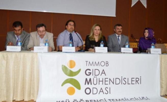 """KSÜ'de Dünya Süt Gününde """"Gıda Sektörü"""" Tartışıldı"""