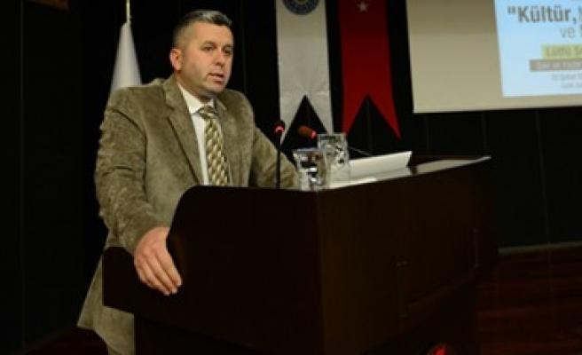 """KSÜ'de """"Kültür, Medeniyet ve Maya"""" Konferansı Verdi"""