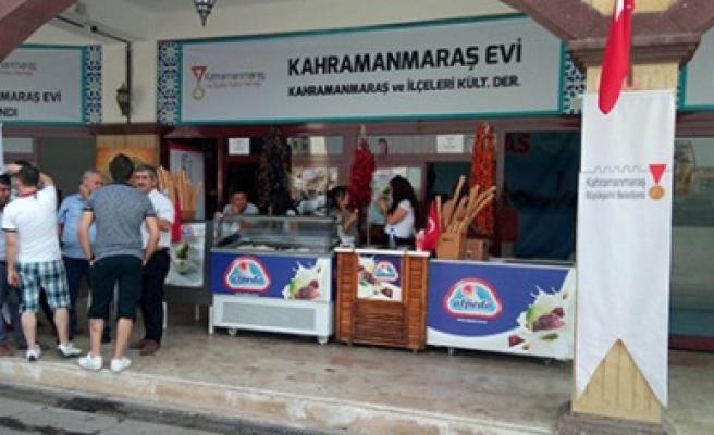 Kültür Festivaline Kahramanmaraş Evi
