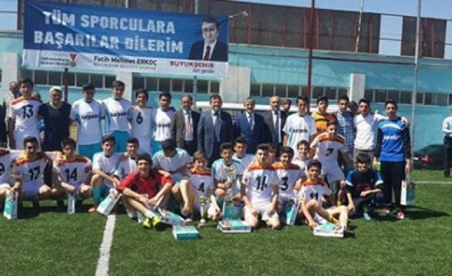 Liselerde Şampiyon Gülizar Şamil Aktaş Lisesi