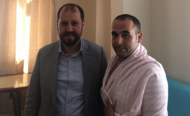 Metin Doğan'dan Kahraman Gazimize Ziyaret