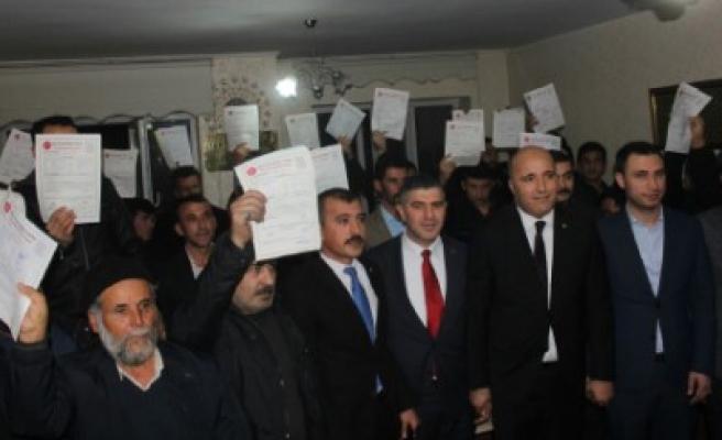 MHP Dulkadiroğlu İlçe Teşkilatına 200 Yeni Üye