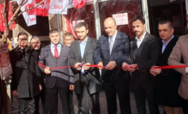 MHP Dulkadiroğlu Teşkilatı Üye Çalışmalarına Devam Ediyor
