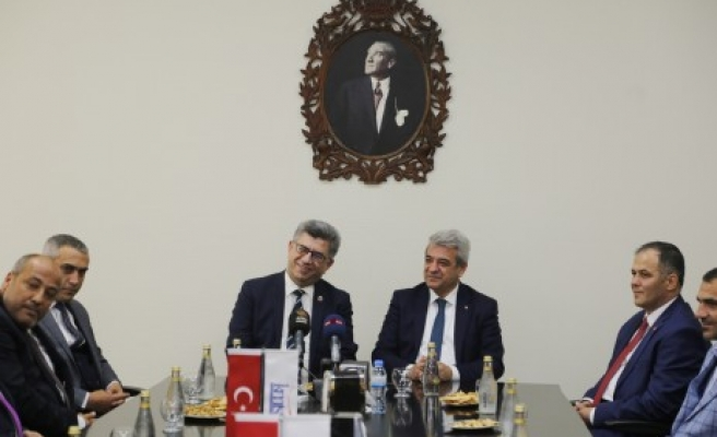 Mhp Genel Başkan Yardımcısı Sefer Aycan'dan KMTSO'YA Ziyaret