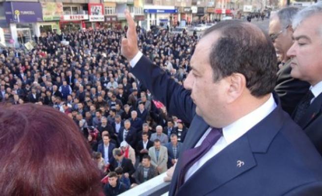 MHP Karacaoğlan Seçim Bürosu Açılıyor