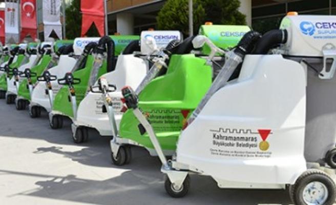 Mobil Temizlik Makinaları Hizmette