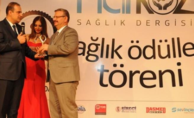 Narkoz Sağlık Dergisinden Sanko'ya Ödül