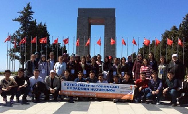 Öğrenciler Çanakkale'den Mutlu Döndüler