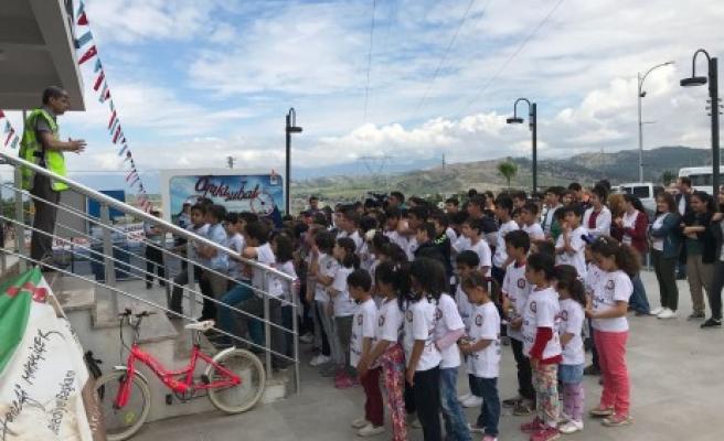 Onikişubat'ta Trafik Ve Bisiklet Kullanımı Eğitimi Verildi