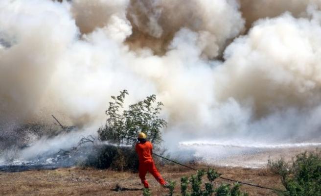 Orman Yangını Tatbikatı