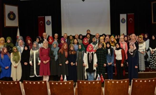 Osmaniye Kız AİHL Öğrencileri Rektör Deveci'yi Ziyaret Etti