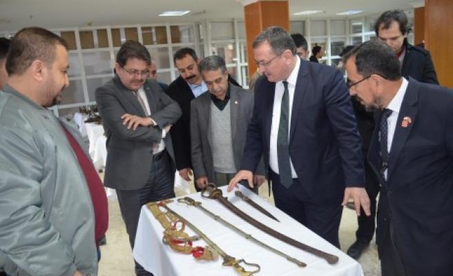Osmanlı Silahları Maraş'ta Görücüye Çıktı