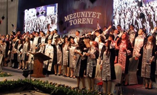 Özel Sanko Liselerinde Mezuniyet Sevinci