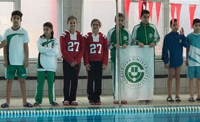 Özel Sanko Okullarının İki Yüzücüsünden Büyük Başarı