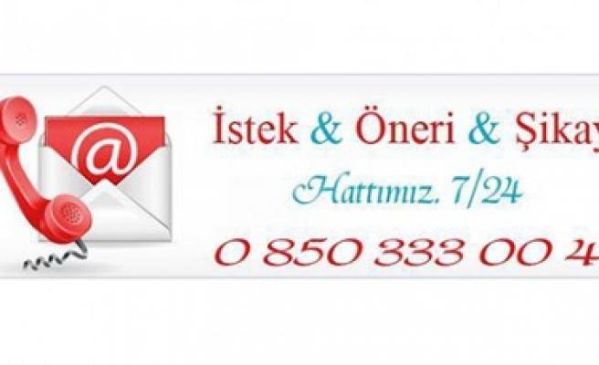 Pazarcık Belediyesi 7/24 Çağrı Merkezi Vatandaşın Hizmetinde