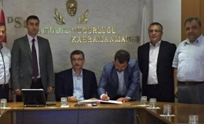 Pazarcık Belediyesi Doğalgaz Protokolü İmzaladı