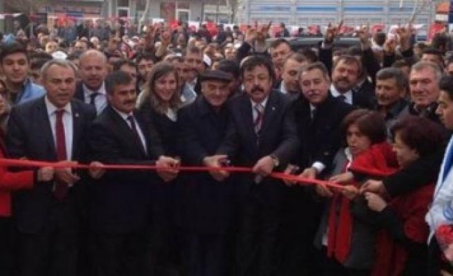 Pazarcık'ta  MHP Coşkusu