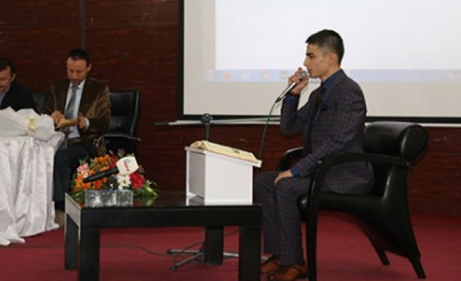 Pazarcık'ta Kuran-ı Kerim Okuma Yarışması