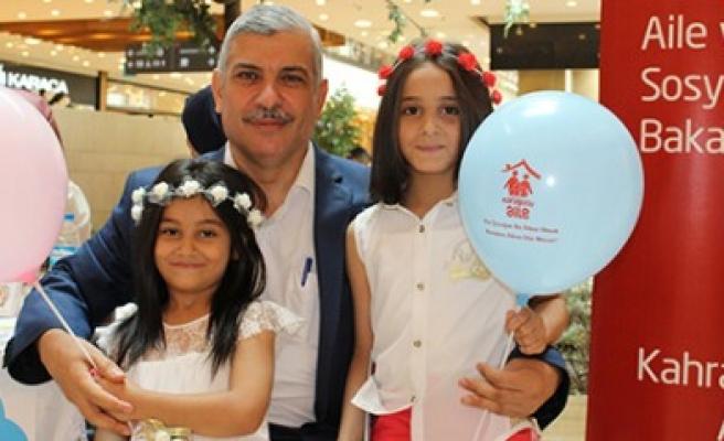 Piazza'da Koruyucu Aile Standı Açıldı