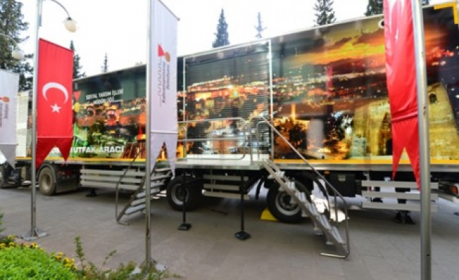 Ramazan'da Mobil Mutfak da Hizmet Verecek