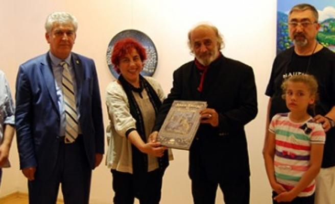 Ressam Adil Ocak 53'üncü Kişisel Sergisini Açtı
