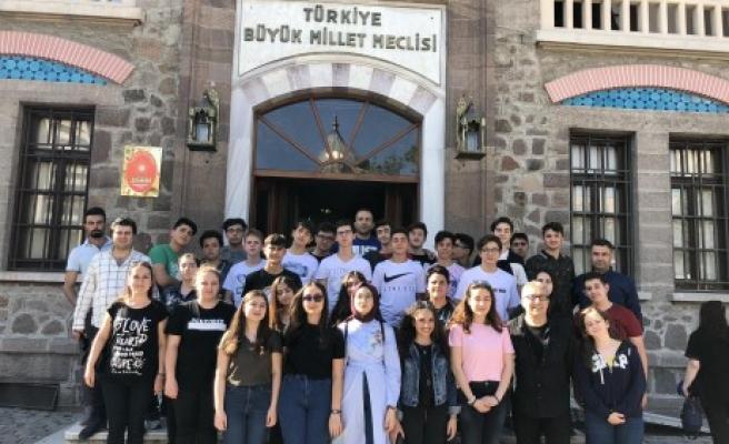 """SANKO Okulları Ankara """"Sanat Turu"""" Gezisi Düzenledi"""