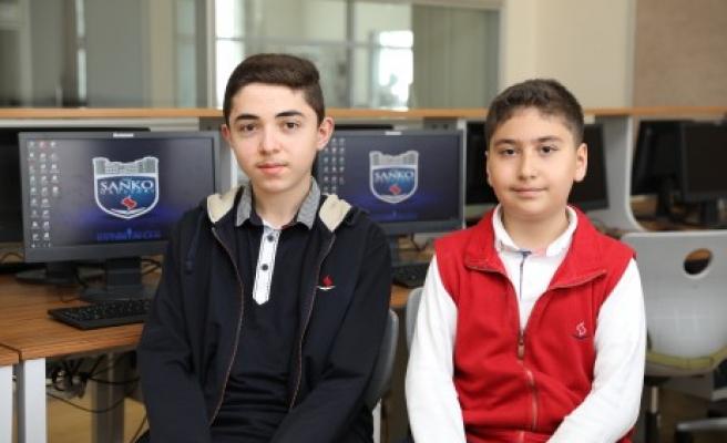 SANKO Okulları İki Dünya Üçüncülüğü Daha Kazandı