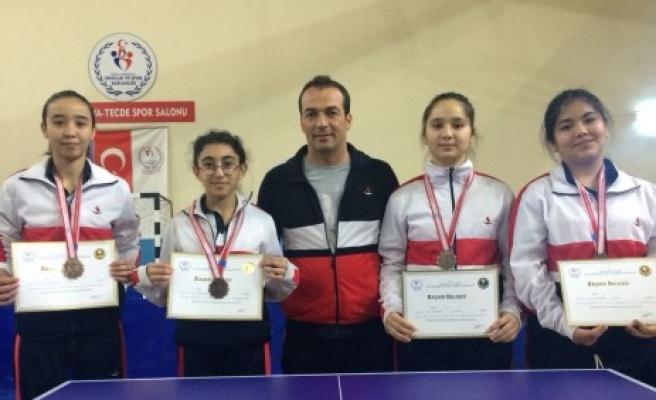 SANKO Okulları Masa Tenisi Takımı Türkiye Şampiyonasına Gidiyor
