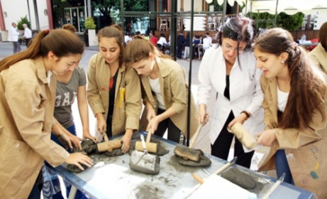 Sanko Okulları'nda Öğrenciler Soma İçin Bir Araya Geldi
