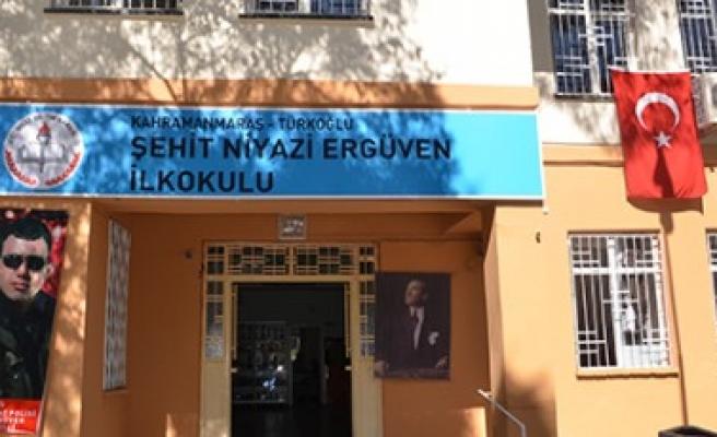 Şehit Ergüven'in Adı Okulda Yaşayacak