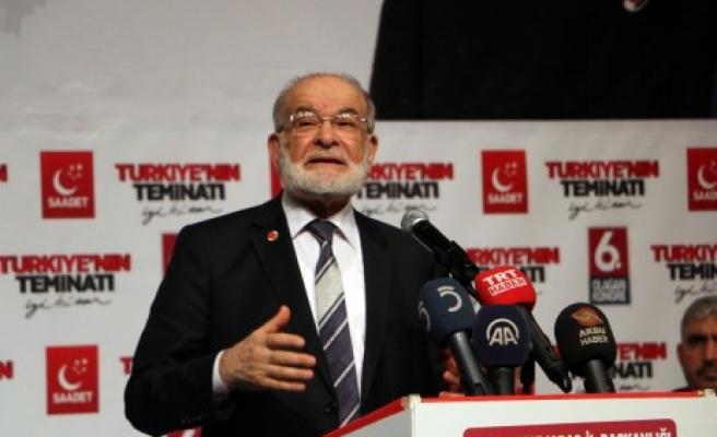 SP Genel Başkanı Karamollaoğlu:  Bu bir Türk-Kürt Problemi Değil